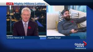 Edmonton weather at Mighty Millions Lottery