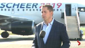 2019 Federal Election: Scheer talks cabinet confidentiality, Quebec's Bill 21