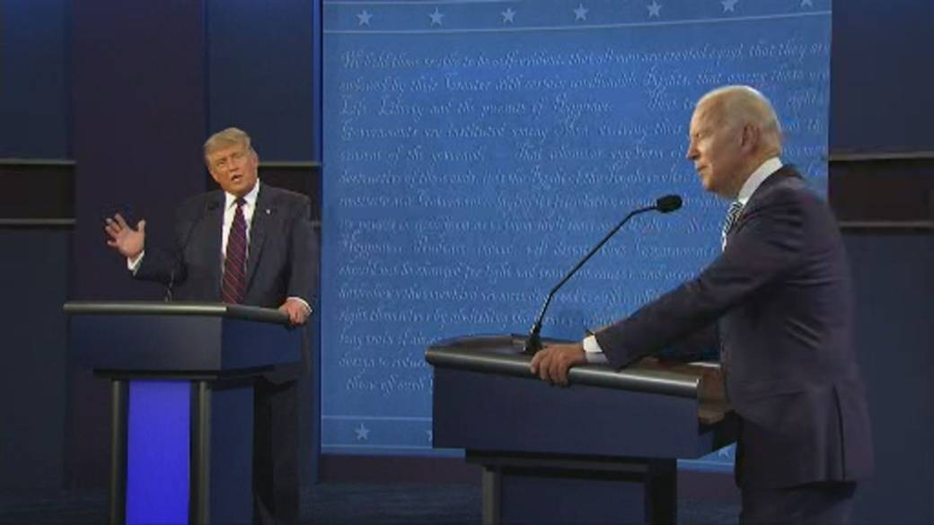 Click to play video 'US Presidential debate: Biden said 'everybody knows' Trump is a liar'