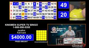 Peterborough Kinsmen Super TV Bingo finding success amid the coronavirus pandemic (02:14)