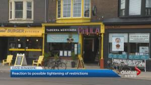 Coronavirus: Ontario restaurant owners prepare for possible new restrictions as cases rise