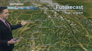 Kelowna Weather Forecast: April 13 (03:24)