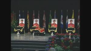 4 fallen RCMP officers remembered at ceremony 15 years after Mayerthorpe shootings