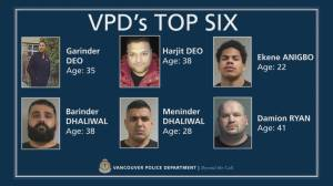 VPD on decision to publicly out key members of various gangs (06:35)
