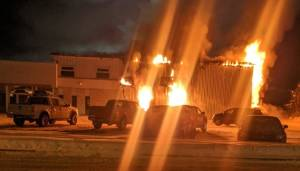 Honda blaze is the 2nd dealership fire this month in Edson