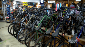 Calgary bike shops see shortage as sales soar amid COVID-19 pandemic