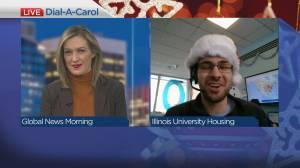Christmas carols on demand