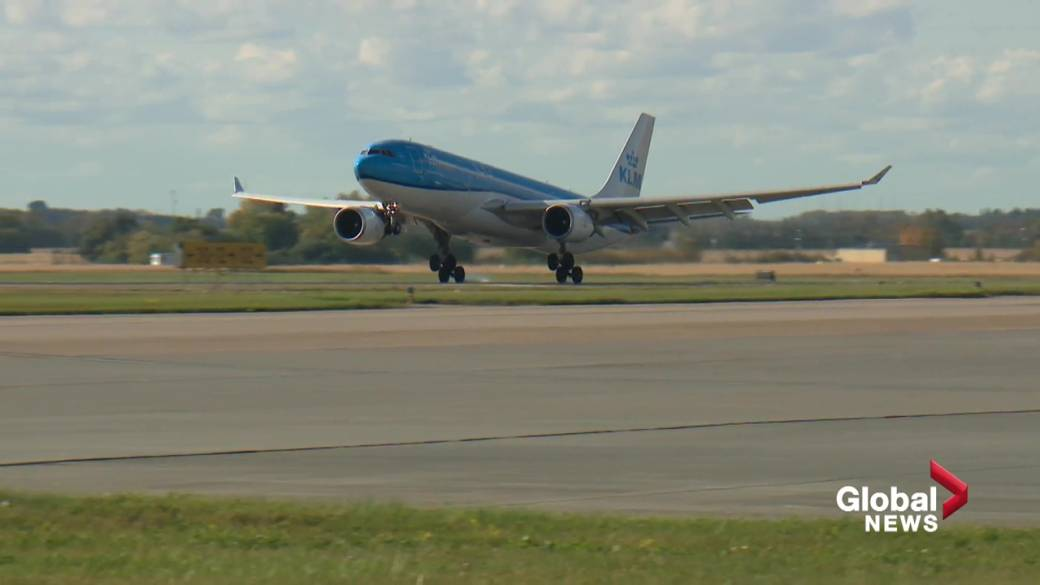 Click to play video: 'Edmonton International Airport ready to welcome the world back'