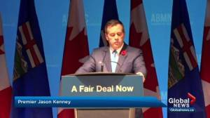 Kenney announces 'fair deal' panel while speaking to conservative core in Red Deer