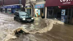 U.K. towns flooded, residents evacuated as Storm Dennis hits region
