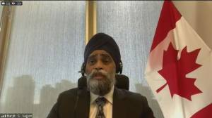 Sajjan defends Liberal handling of military misconduct as committee shuts down probe (02:26)