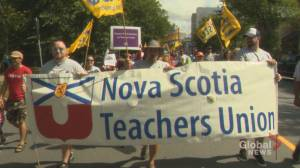 Organized workers celebrate Labour Day in Halifax