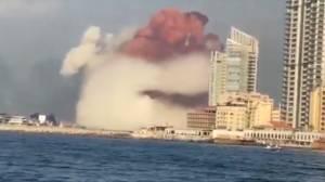 Beirut explosion: Massive blast devastates city's port area