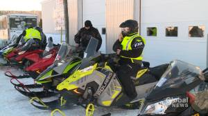 Premier hits New Brunswick snowmobile trails as part of tourism push