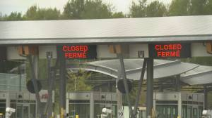 COVID-19: B.C. premier says reopening of Canada-U.S. border not a priority (02:16)