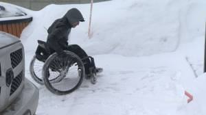 Vaudreuil man is hoping his plight with snow removal will help others with disabilities
