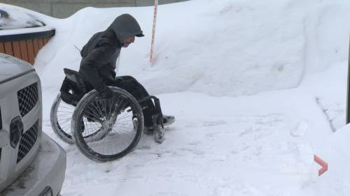 Vaudreuil man is hoping his plight with snow removal will help others with disabilities | Watch News Videos Online