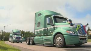 10th annual Convoy For Hope makes its way through Moncton