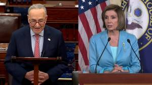 Schumer, Pelosi praise Supreme Court decision to save Affordable Care Act (02:06)