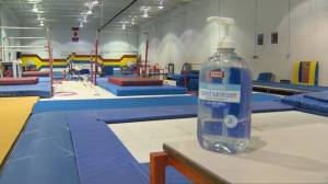 Markham Gymnastics Club urges province to increase number of students allowed to train indoors (02:24)