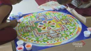 Sand Mandala created at Buddhist Centre of Regina (01:26)