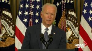 Biden signs sweeping executive order to crack down on corporate monopolies (03:36)
