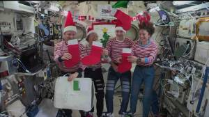 How NASA astronauts celebrate Christmas in space