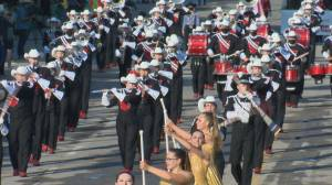 Yahoo! Sights and sounds from the 2021 Calgary Stampede Parade (02:03)