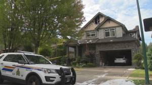 Arson possible after body found in Coquitlam house fire (01:55)