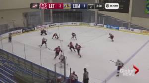 Lethbridge Hurricanes fall to division-best Edmonton Oil Kings in season finale (01:30)