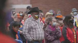 Indigenous communities react to Pope's comments on residential schools (01:51)