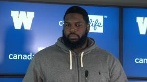 RAW: Blue Bombers Stanley Bryant – Oct. 30