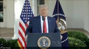 Coronavirus: Trump claims if 'left gains power' they will delay COVID-19 vaccine, slams lockdowns (01:24)