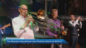 The Beaches International Jazz Festival returns as a drive-in (04:08)