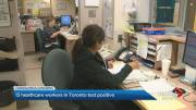 Play video: Frontline health-care workers beginning to fall ill with COVID-19