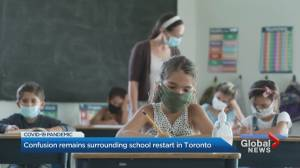 Coronavirus: TDSB announces virtual classes delayed by a couple more days (02:31)