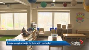 Coronavirus: Daycare centres at risk over rent (02:01)
