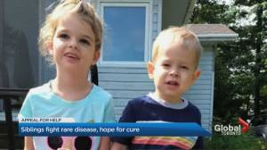 Woodbridge, Ont., siblings fight rare terminal disease, hope for cure