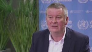 Coronavirus: WHO official says countries shouldn't be punished for reporting new variants (02:35)