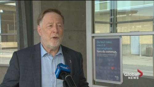 Officials supply masks to Montreal-area transit users | Watch News Videos Online