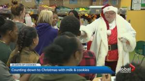 Spreading joy to thousands this holiday season with milk and cookies