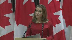 Freeland says amendments to CUSMA will make it 'even better'