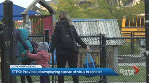 Teachers' union accuses Ford of downplaying spread of COVID-19 in Ontario schools (02:00)