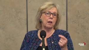 Elizabeth May on Trudeau government: 'You can't be carbon neutral by 2050 if your target doesn't change by 2030'