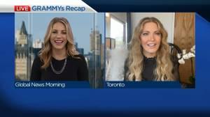GRAMMYs recap with ET Canada (03:48)