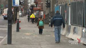 Coronavirus: Montreal suburb aims to get traffic and pedestrians moving in the same direction