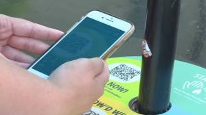 Takeout app offers restaurant dining at Springer Market Square (01:40)