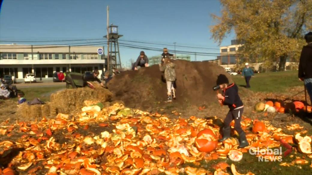 Common Roots celebrates first Pumpkin Smash at new BiHi location