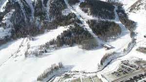 Rescue crews search for possible missing people after avalanche in Italian Alps