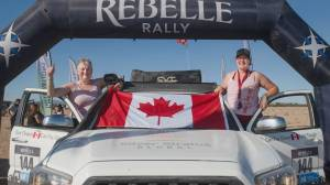 Off-road rally in Nevada, California a 'real-deal' adventure for two B.C. women (02:17)